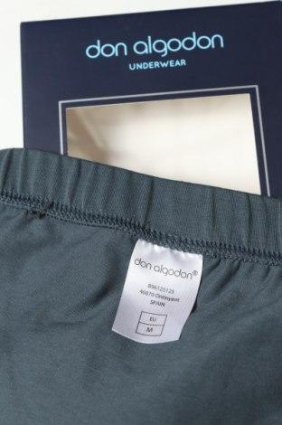 Слип Don Algodon, Размер M, Цвят Зелен, 93% памук, 7% еластан, Цена 11,55лв.