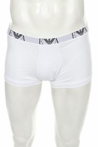 Pánske boxserky Emporio Armani Underwear, Velikost XL, Barva Bílá, 95% bavlna, 5% elastan, Cena  550,00Kč