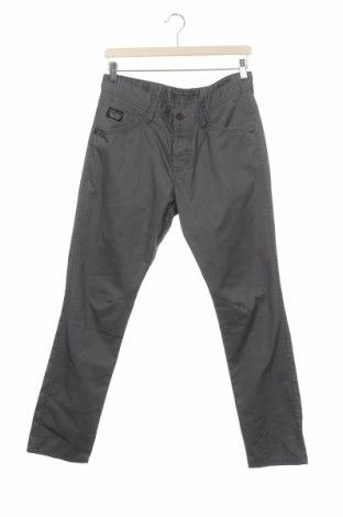 Мъжки дънки Angelo Litrico, Размер M, Цвят Сив, 64% полиестер, 36% памук, Цена 23,52лв.