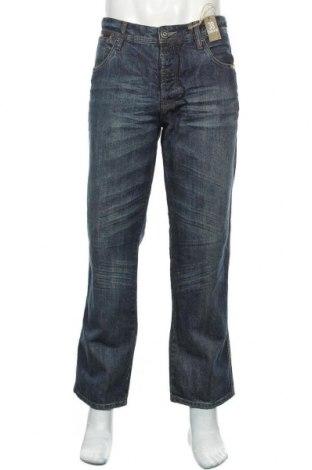 Мъжки дънки Angelo Litrico, Размер XL, Цвят Син, Памук, Цена 34,81лв.