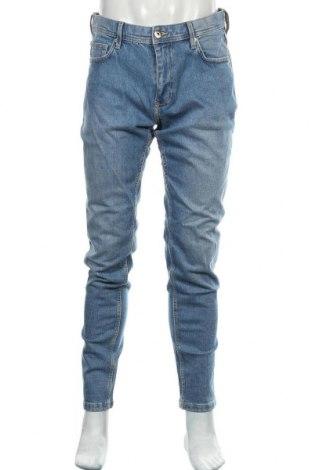 Мъжки дънки Edc By Esprit, Размер L, Цвят Син, 99% памук, 1% еластан, Цена 39,22лв.