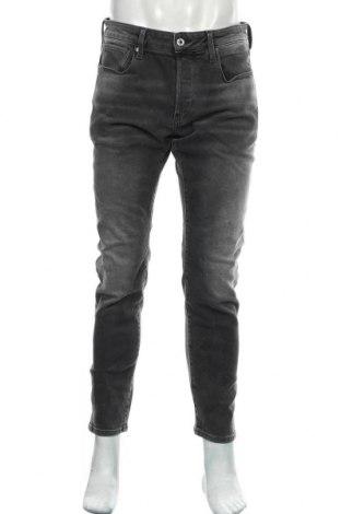Мъжки дънки G-Star Raw, Размер M, Цвят Сив, 98% памук, 2% еластан, Цена 57,25лв.
