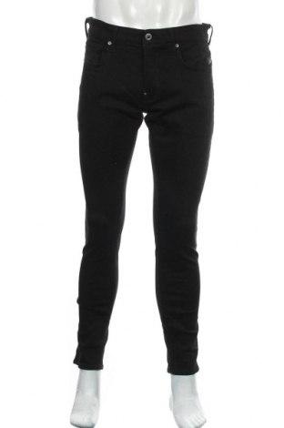 Мъжки дънки G-Star Raw, Размер L, Цвят Черен, 92% памук, 7% полиестер, 1% еластан, Цена 57,25лв.