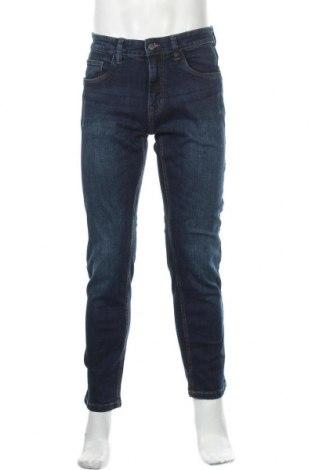 Мъжки дънки Indicode, Размер M, Цвят Син, 98% памук, 2% еластан, Цена 66,75лв.