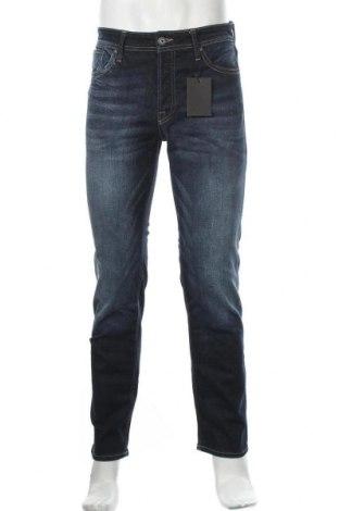 Мъжки дънки Jack & Jones, Размер S, Цвят Син, 99% памук, 1% еластан, Цена 28,08лв.