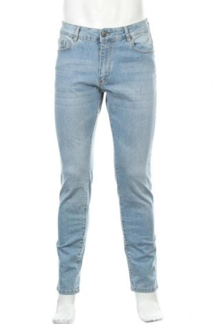 Мъжки дънки Mr. F, Размер M, Цвят Син, 98% памук, 2% еластан, Цена 23,56лв.
