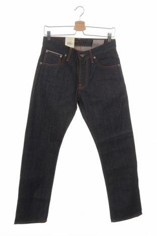 Мъжки дънки Nudie Jeans Co, Размер S, Цвят Син, Памук, Цена 47,25лв.