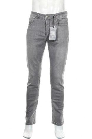 Мъжки дънки Paul Hunter, Размер M, Цвят Сив, 93% памук, 5% полиестер, 2% еластан, Цена 31,97лв.