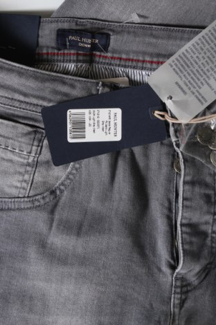 Мъжки дънки Paul Hunter, Размер L, Цвят Сив, 93% памук, 5% полиестер, 2% еластан, Цена 89,25лв.