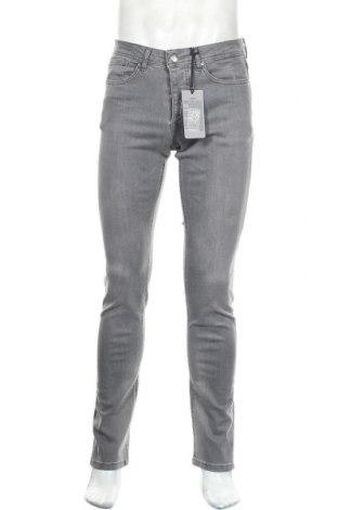 Мъжки дънки Paul Hunter, Размер S, Цвят Сив, 93% памук, 5% полиестер, 2% еластан, Цена 30,58лв.