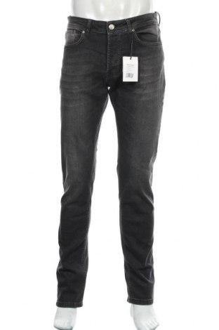Мъжки дънки Sondag & Sons, Размер M, Цвят Сив, 98% памук, 2% еластан, Цена 28,29лв.