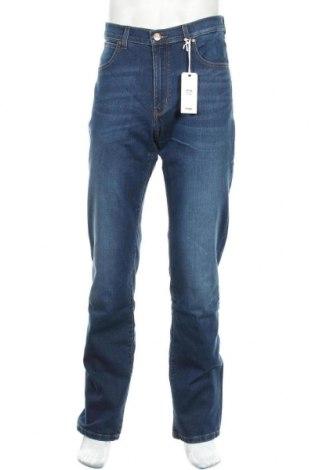 Pánské džíny  Wrangler, Velikost L, Barva Modrá, 75% bavlna, 12% lyocell, 2% polyester, 1% elastan, Cena  972,00Kč