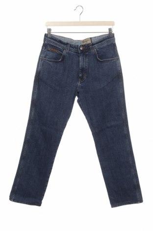 Pánské džíny  Wrangler, Velikost S, Barva Modrá, 99% bavlna, 1% elastan, Cena  421,00Kč