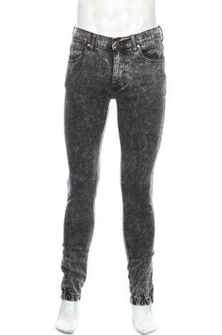 Мъжки дънки Your Turn, Размер M, Цвят Сив, 98% памук, 2% еластан, Цена 25,52лв.