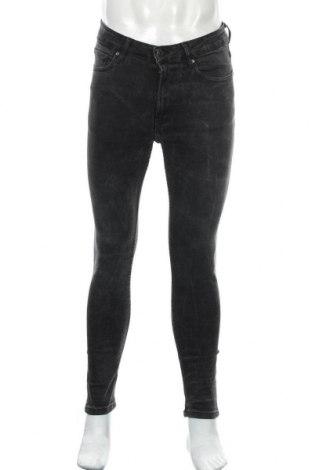 Мъжки дънки Zara, Размер M, Цвят Сив, 98% памук, 2% еластан, Цена 11,34лв.