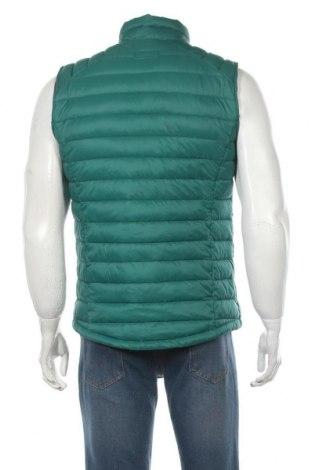 Мъжки елек Tom Tailor, Размер M, Цвят Зелен, Полиестер, Цена 74,25лв.