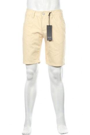Мъжки къс панталон Anerkjendt, Размер M, Цвят Жълт, Памук, Цена 33,12лв.