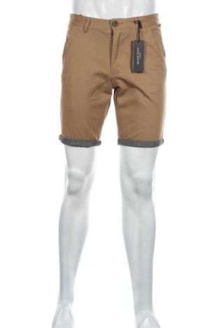 Мъжки къс панталон Brave Soul, Размер S, Цвят Кафяв, Памук, Цена 26,55лв.