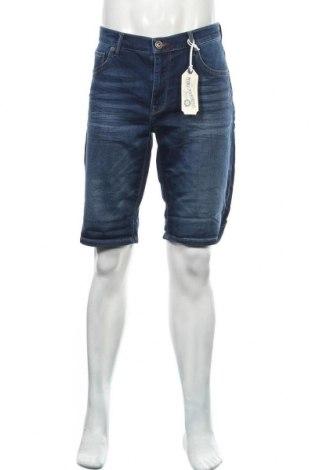 Мъжки къс панталон Petrol Industries, Размер L, Цвят Син, 99% памук, 1% еластан, Цена 16,12лв.