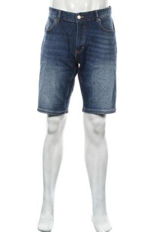 Pánské kraťasy Q/S by S.Oliver, Velikost L, Barva Modrá, 98% bavlna, 2% elastan, Cena  538,00Kč