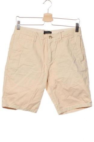 Мъжки къс панталон Scotch & Soda, Размер S, Цвят Бежов, Памук, Цена 23,63лв.