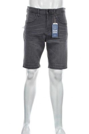 Pánské kraťasy Tom Tailor, Velikost L, Barva Šedá, 98% bavlna, 2% elastan, Cena  687,00Kč