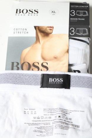 Pánský komplet  Hugo Boss, Velikost XL, Barva Bílá, 95% bavlna, 5% elastan, Cena  1728,00Kč