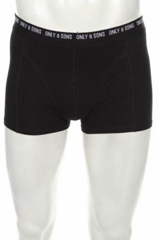 Pánský komplet  Only & Sons, Velikost S, Barva Černá, 95% bavlna, 5% elastan, Cena  305,00Kč