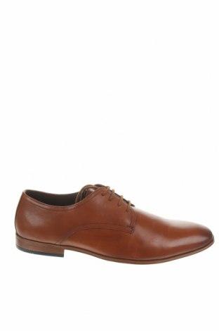 Ανδρικά παπούτσια About You, Μέγεθος 44, Χρώμα Καφέ, Γνήσιο δέρμα, Τιμή 28,59€