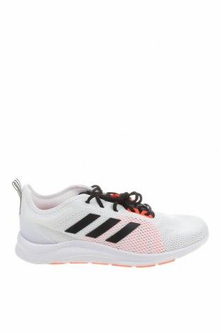 Ανδρικά παπούτσια Adidas, Μέγεθος 46, Χρώμα Λευκό, Κλωστοϋφαντουργικά προϊόντα, δερματίνη, Τιμή 39,20€