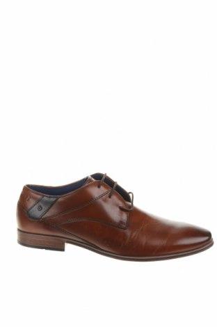 Ανδρικά παπούτσια Bugatti, Μέγεθος 43, Χρώμα Καφέ, Γνήσιο δέρμα, Τιμή 53,12€