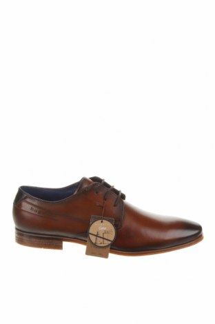 Ανδρικά παπούτσια Bugatti, Μέγεθος 42, Χρώμα Καφέ, Γνήσιο δέρμα, Τιμή 52,98€
