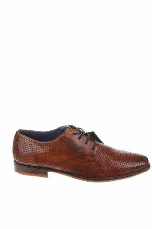 Ανδρικά παπούτσια Bugatti, Μέγεθος 43, Χρώμα Καφέ, Γνήσιο δέρμα, Τιμή 55,44€
