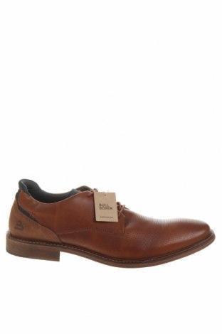 Мъжки обувки Bullboxer, Размер 45, Цвят Кафяв, Естествена кожа, Цена 62,55лв.