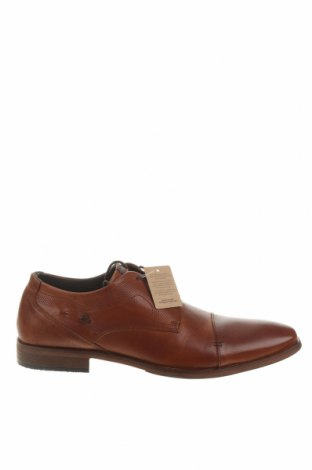 Мъжки обувки Bullboxer, Размер 45, Цвят Кафяв, Естествена кожа, Цена 53,55лв.