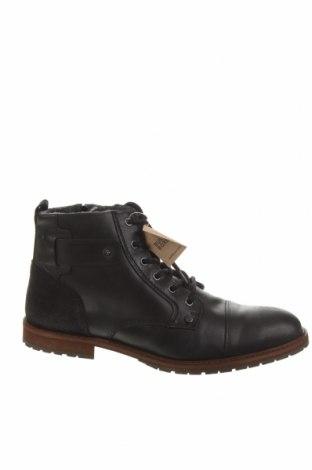 Мъжки обувки Bullboxer, Размер 44, Цвят Черен, Естествена кожа, Цена 134,25лв.