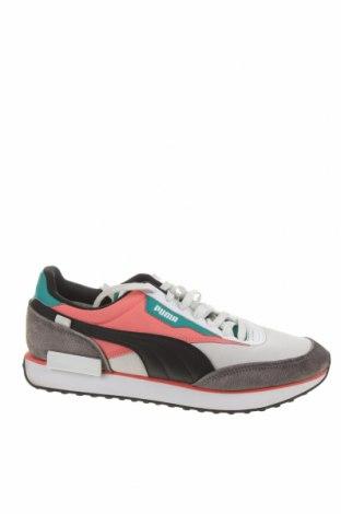 Ανδρικά παπούτσια PUMA, Μέγεθος 44, Χρώμα Πολύχρωμο, Φυσικό σουέτ, γνήσιο δέρμα, δερματίνη, κλωστοϋφαντουργικά προϊόντα, Τιμή 41,52€
