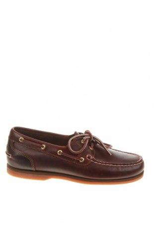 Ανδρικά παπούτσια Timberland, Μέγεθος 39, Χρώμα Κόκκινο, Γνήσιο δέρμα, Τιμή 57,76€