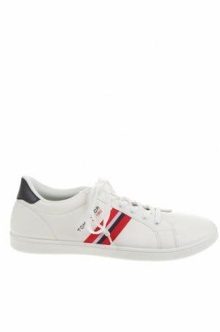 Ανδρικά παπούτσια Tom Tailor, Μέγεθος 44, Χρώμα Λευκό, Δερματίνη, Τιμή 22,48€