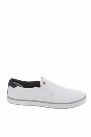 Ανδρικά παπούτσια Tommy Hilfiger, Μέγεθος 42, Χρώμα Λευκό, Κλωστοϋφαντουργικά προϊόντα, Τιμή 39,20€