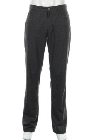 Мъжки панталон Alberto, Размер M, Цвят Сив, 69% полиестер, 29% вискоза, 2% еластан, Цена 11,03лв.