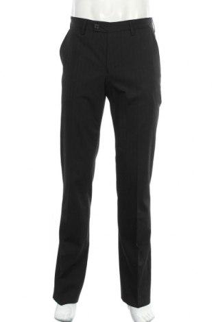 Мъжки панталон Alberto, Размер M, Цвят Черен, 49% полиестер, 49% вискоза, 2% еластан, Цена 104,16лв.