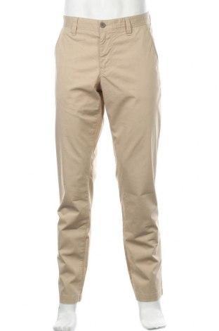 Мъжки панталон Alberto, Размер L, Цвят Бежов, 63% памук, 32% полиестер, 5% еластан, Цена 11,29лв.