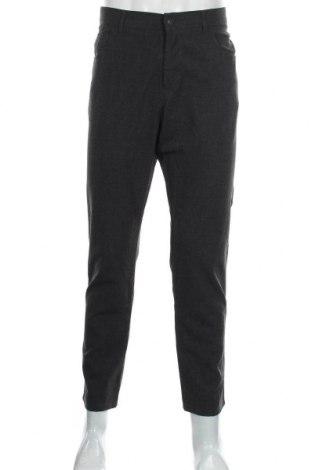Мъжки панталон Alberto, Размер L, Цвят Сив, 68% полиестер, 29% вискоза, 3% еластан, Цена 13,65лв.