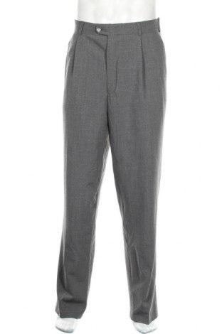 Мъжки панталон Angelo Litrico, Размер XL, Цвят Сив, 60% вълна, 38% полиестер, 2% еластан, Цена 27,93лв.