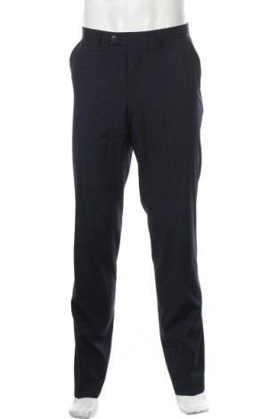 Мъжки панталон Angelo Litrico, Размер L, Цвят Син, 72% полиестер, 26% вискоза, 2% еластан, Цена 7,35лв.