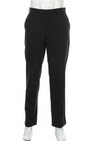 Мъжки панталон Angelo Litrico, Размер M, Цвят Черен, 53% полиестер, 47% вискоза, Цена 7,61лв.