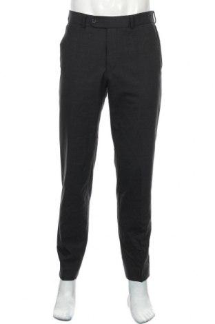 Мъжки панталон Atelier GARDEUR, Размер M, Цвят Син, 60% вълна, 36% полиестер, 4% еластан, Цена 11,03лв.