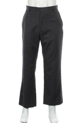 Мъжки панталон Banana Republic, Размер L, Цвят Сив, Вълна, Цена 11,03лв.