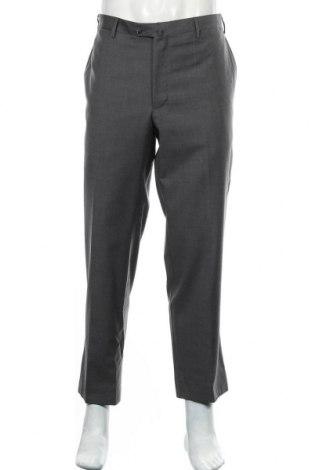 Мъжки панталон Boggi, Размер XL, Цвят Сив, Вълна, Цена 37,28лв.